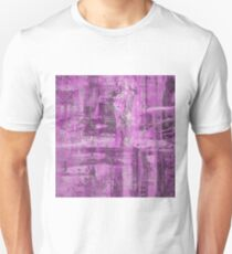 Abstract Study in Purple, pink and black T-Shirt
