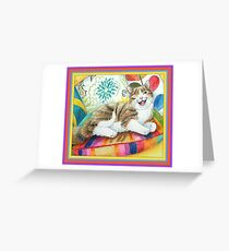"I am magnificent, from the childrens book "" The magnificent cat"" by Sharon Thompson available on amazon Greeting Card"