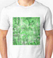 Abstract Study In Green Unisex T-Shirt
