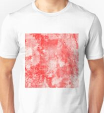 Abstract Study In Red T-Shirt
