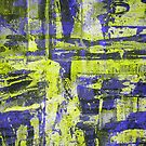 Abstract Study In Blue And Yellow by Printpix