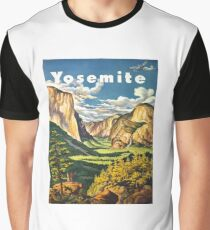 Yosemite Travel Graphic T-Shirt