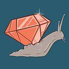 Jewel Snail by strangethingsA