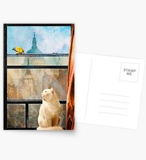 The Bird and the Cat Postcards