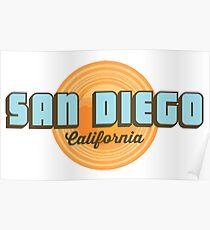 San Diego - California. Poster