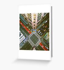 Union Square Intersection Greeting Card