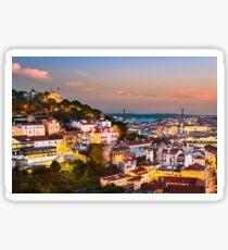 Lisbon Sunset Sticker