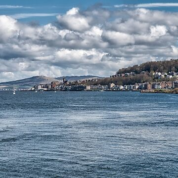 Scottish Scenery on The River Clyde by 242Digital