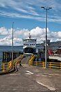 Ferry at Wemyss Bay, Scotland by Jeremy Lavender Photography