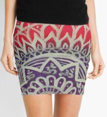 Mandala Art Mini Skirt