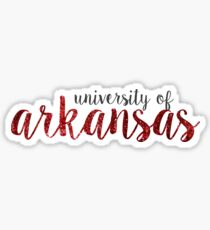 University of Arkansas Sticker