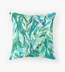 BANANA LEAF JUNGLE Throw Pillow