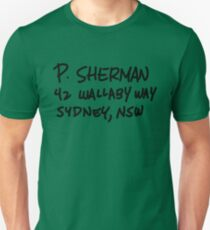 Camiseta unisex P. Sherman 42 Wallaby Way Sydney