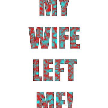 My wife left me! Impractical Jokers phrase by darrensurrey