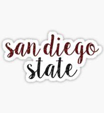 San Diego State University - SDSU Sticker