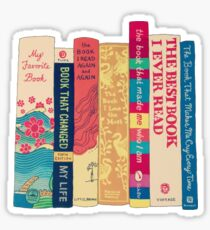 All the essential books Sticker