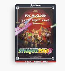 Lylat - Star Fox Zero Canvas Print