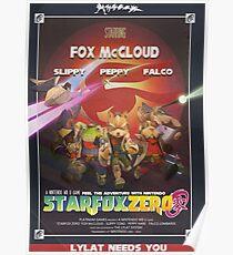 Lylat - Star Fox Zero Poster