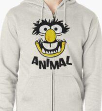 Animal Muppets Zipped Hoodie