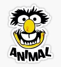 Animal Muppets Sticker