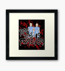 Come Play WIth US Framed Print