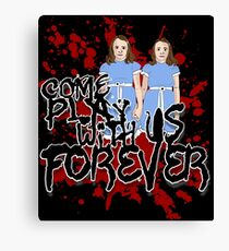 Come Play WIth US Canvas Print