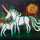 Nurturing Magic: Inner Power Painting by mellierosetest