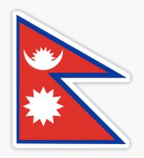Nepal Flag Sticker