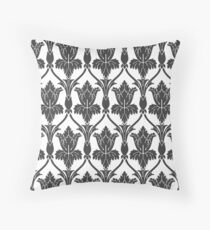 Sherlock Wallpaper Pattern Throw Pillow
