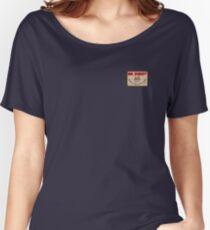 Mr Robot Logo Design Women's Relaxed Fit T-Shirt