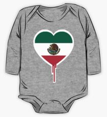 MEXICAN BLEEDING HEART One Piece - Long Sleeve