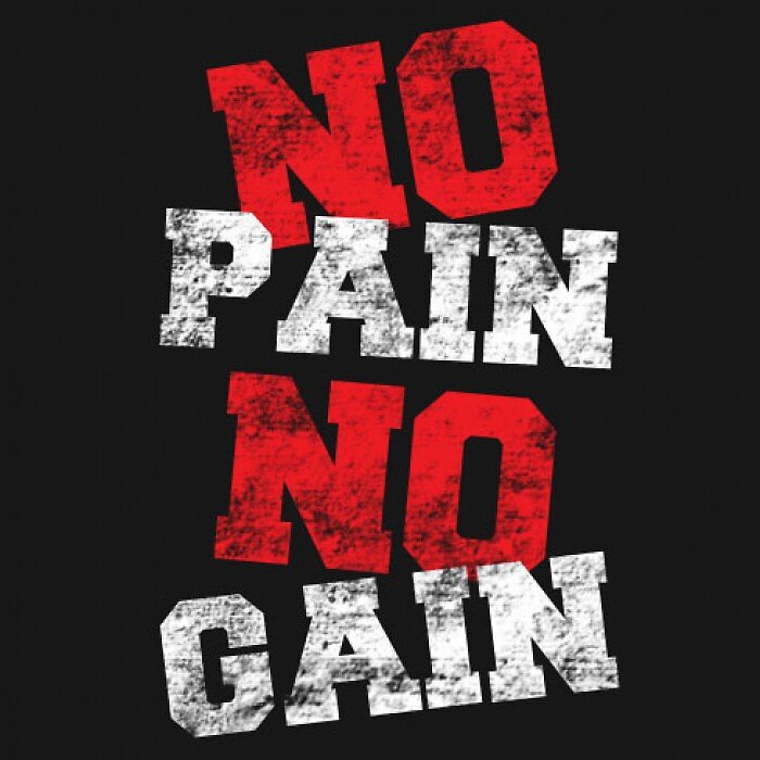 """no pain no gain"" Stickers by AK97 