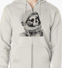 Death On Mars Zipped Hoodie