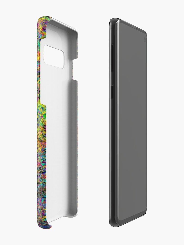 Alternate view of Particle Flash Dance Case & Skin for Samsung Galaxy