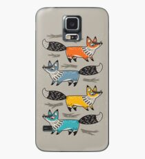Foxes Case/Skin for Samsung Galaxy