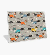 Foxes Laptop Skin