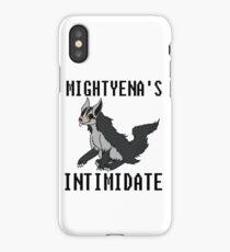 Mightyena's Intimidate! iPhone Case/Skin
