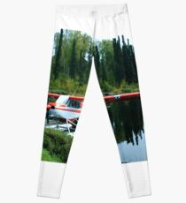 Alaskan Bush Plane Leggings