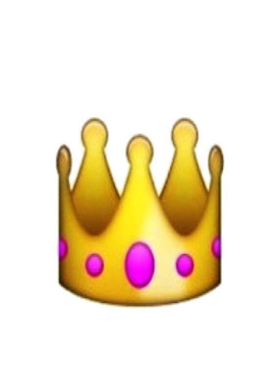 Emoji Crown Art Prints Redbubble