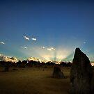Daybreak at The Pinnacles by Sandra Chung