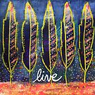 Live (Free): Inner Power Painting by mellierosetest