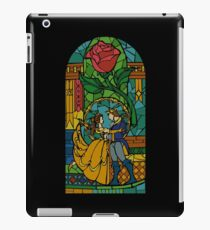 Beauty and The Beast - Stained Glass iPad Case/Skin