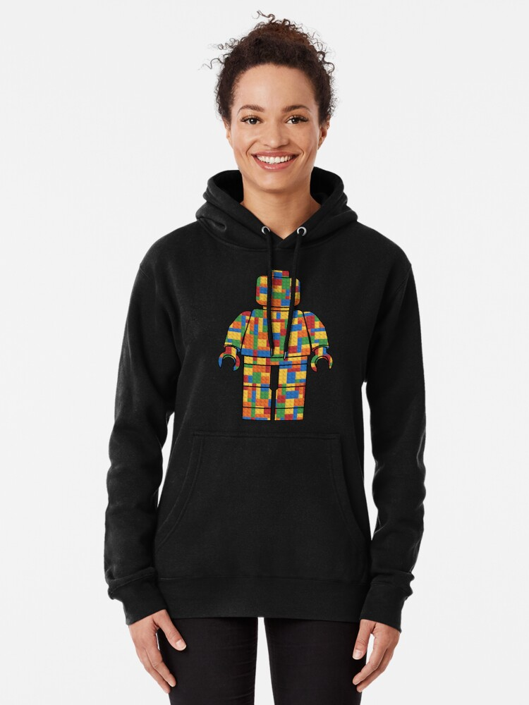 Alternate view of LegoLove Pullover Hoodie