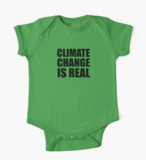 Climate Change . . .  One Piece - Short Sleeve