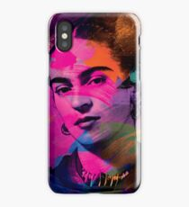 Frida Kahlo Colors iPhone Case