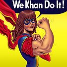 We Khan Do It by Ing4art