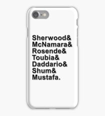 Shadowhunters Cast Names iPhone Case/Skin