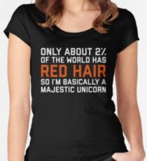 Red Hair Funny Quote Women's Fitted Scoop T-Shirt
