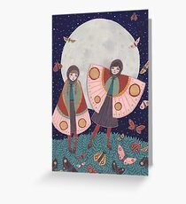 Children of the Moon Greeting Card