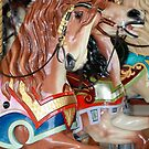 Prancing Carousel Horse by Sophia Covington